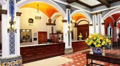 Наш отель в Мексико Сити
