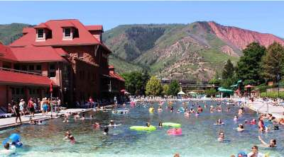 Glenwood Springs, Colorado Mineral Pool