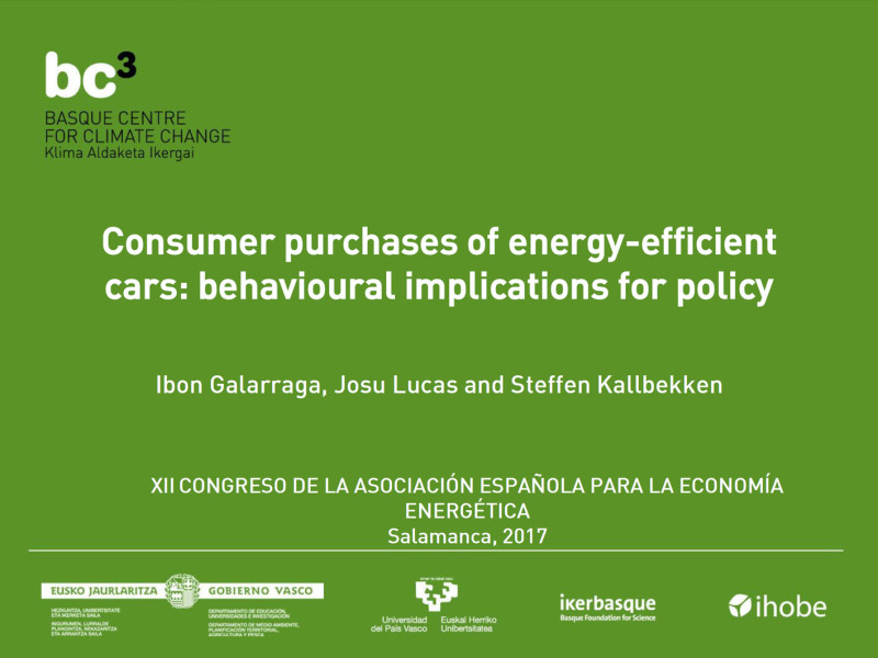 Spanish Association of Energy Economics - Presentation
