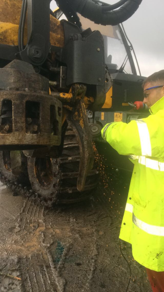 Site Grinding