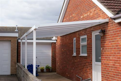 carport from morgans oswestry shropshire