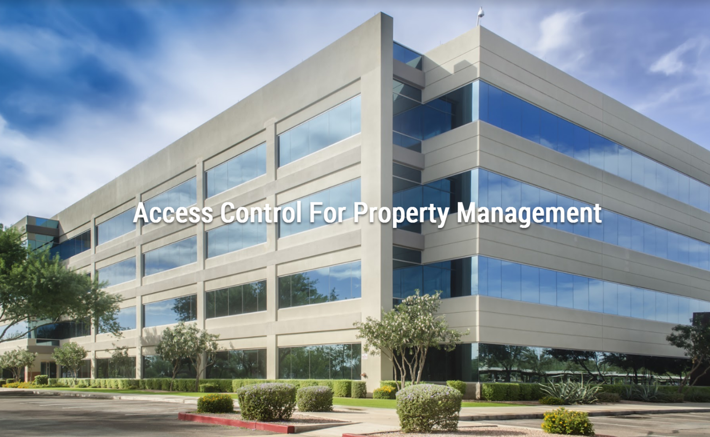 Property management and access Control