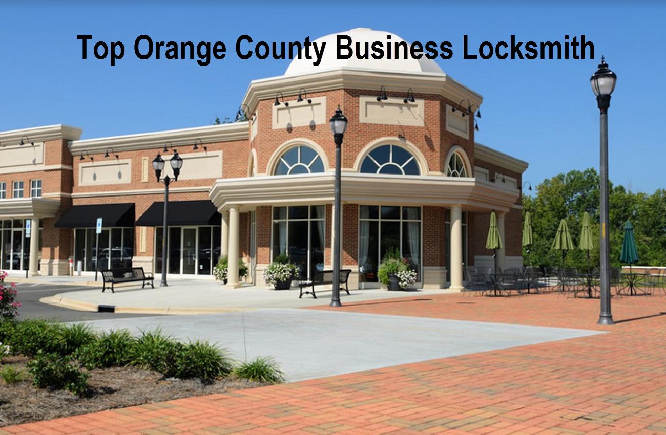 Top Orange County Business Locksmith