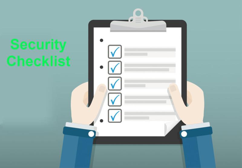 Preschool/Daycare Security Checklist