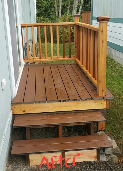 repair decks and porches, a2z handyman service
