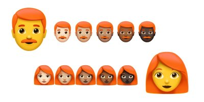 Redhead emoji may be coming soon