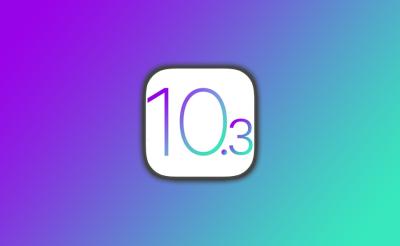 Apple releases iOS 10.3 beta 1