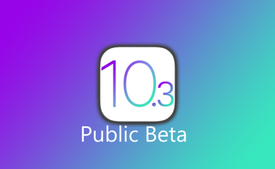 Apple releases iOS 10.3 beta for public testers