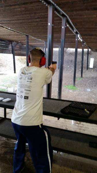 15 Yard Pistol Range