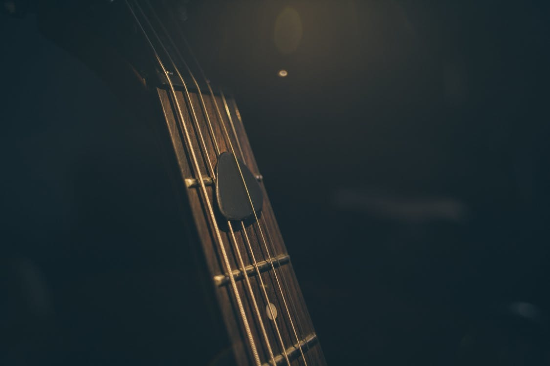 Guitar Light in the Darkness
