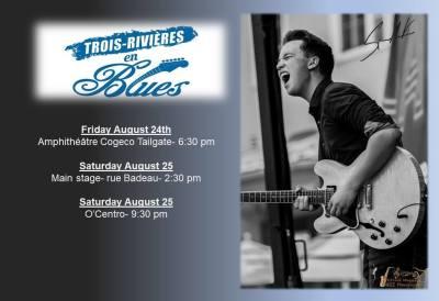 Trois-Rivières en Blues Festival - Spencer Mackenzie Band