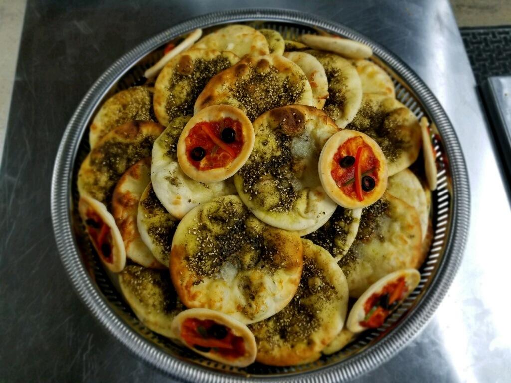 Mini Cerasuolo Veggie Pizza's