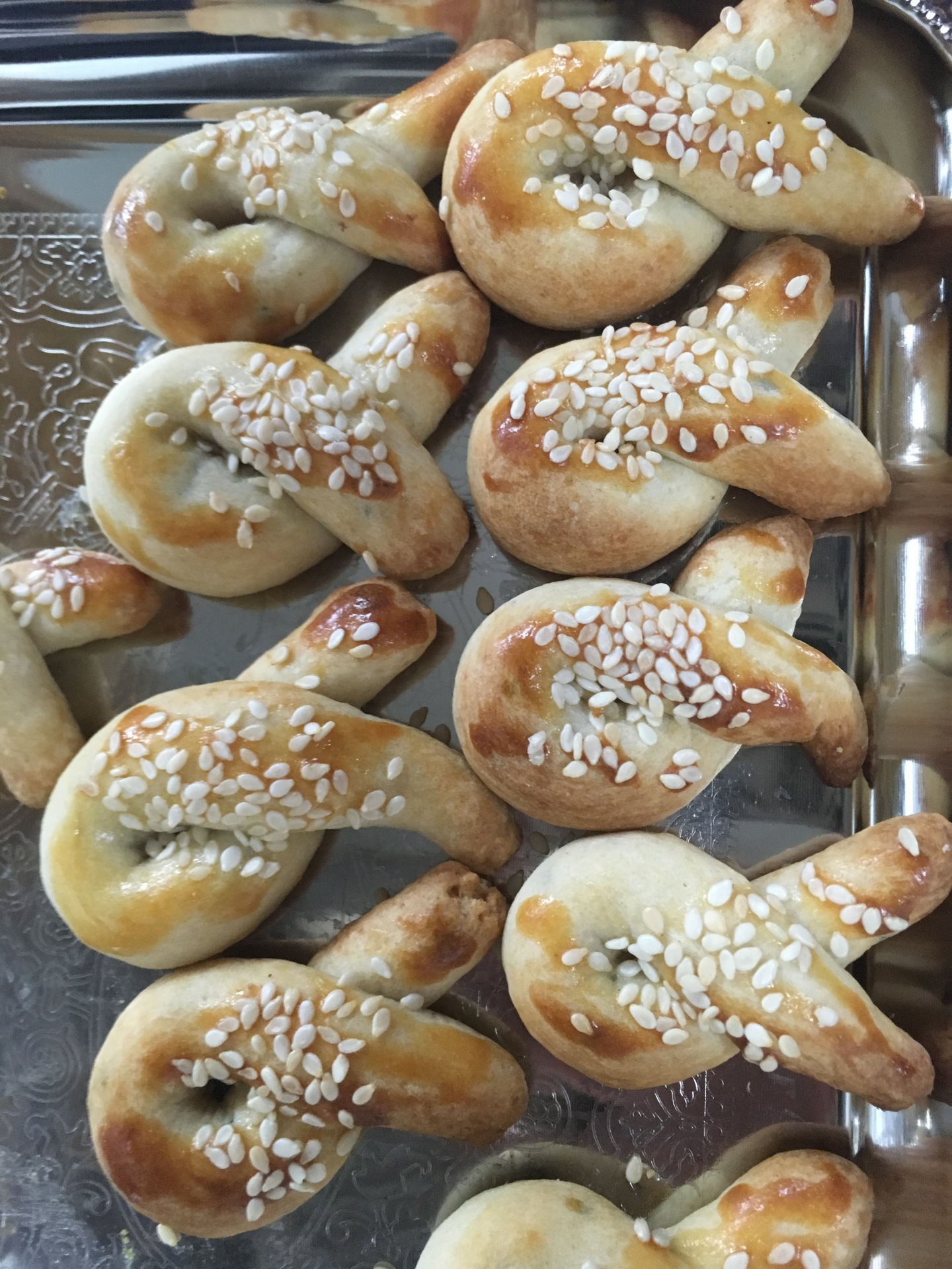 Armenian Sweet Bread Cookies (Choreg)