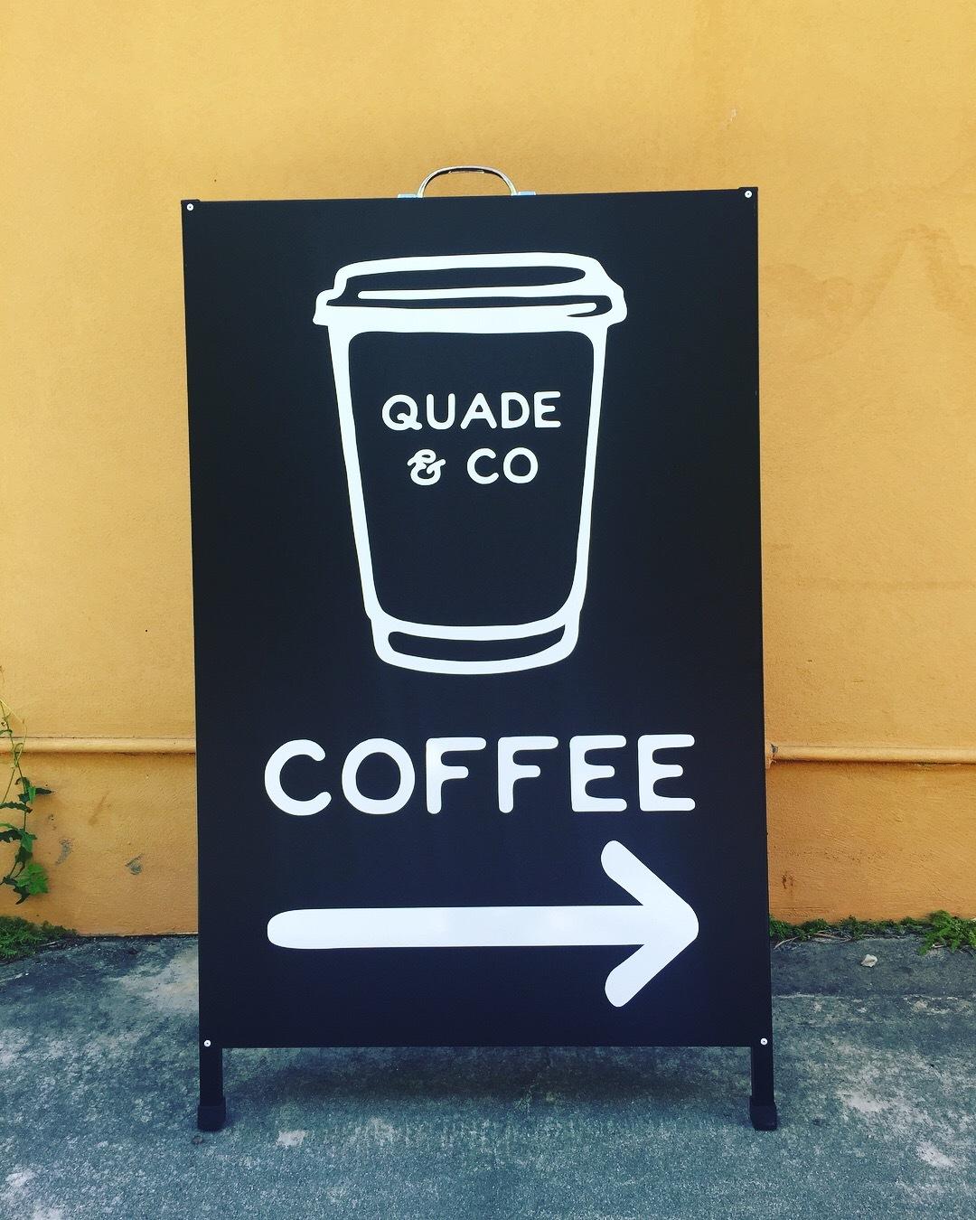Quade & Co - Sandwich board