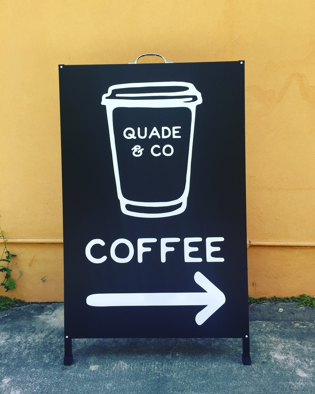 Quade & Co - Sandwich board