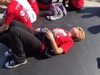 Volunteering at the NYC WFF 2014