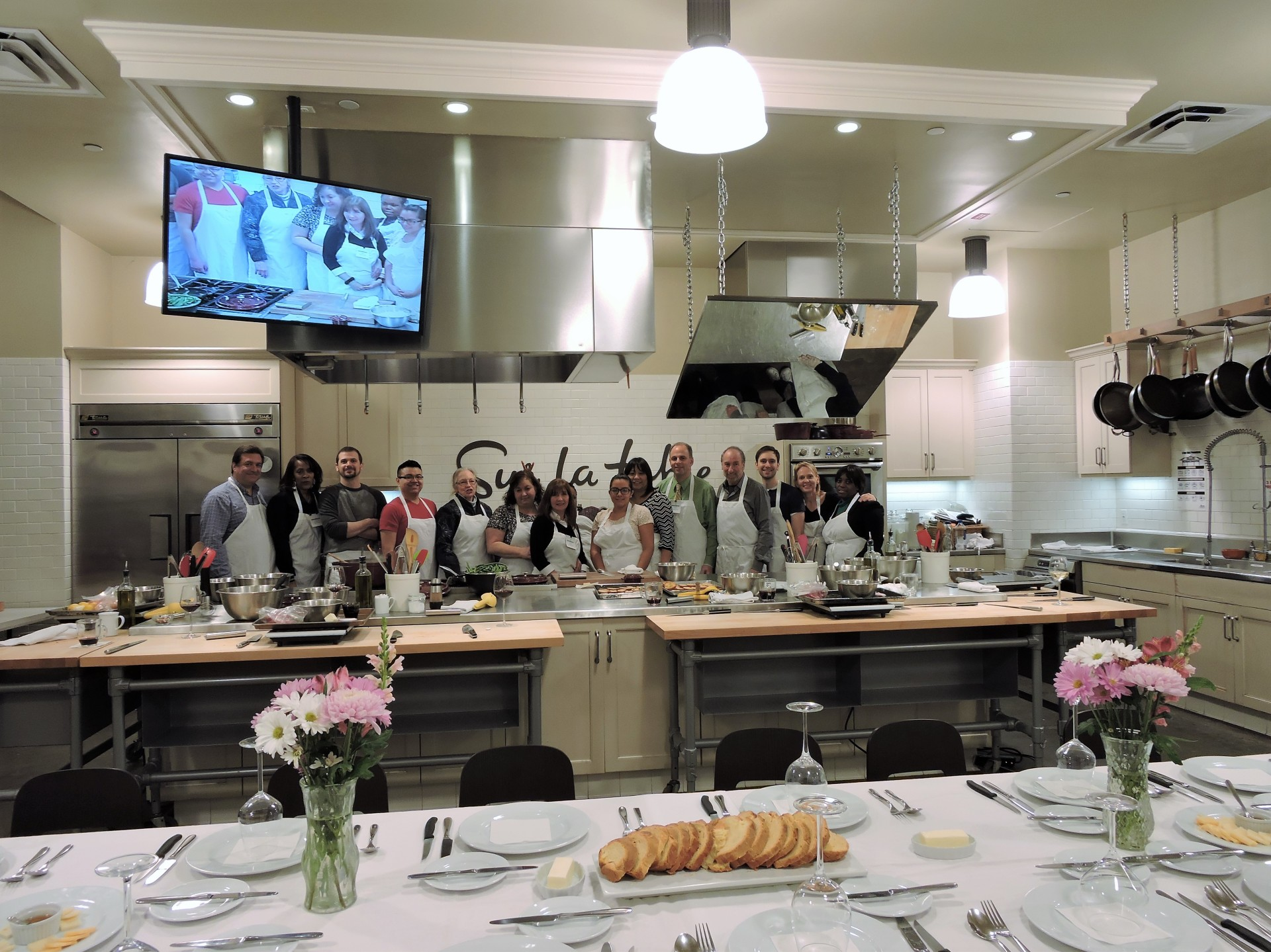 Our 25th Anniversary - Cooking Class outing