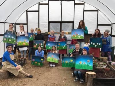 Heritage Garden Plein-Air Painting Class