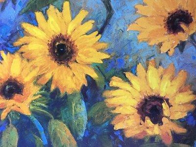 Meadow Art ~ Oil & Pastel Art Experience!