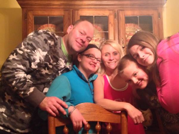Tonya and Todd Cylcoff's family