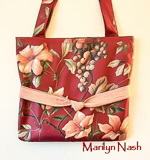 one-of-a-kind tote Marilyn Nash Designs