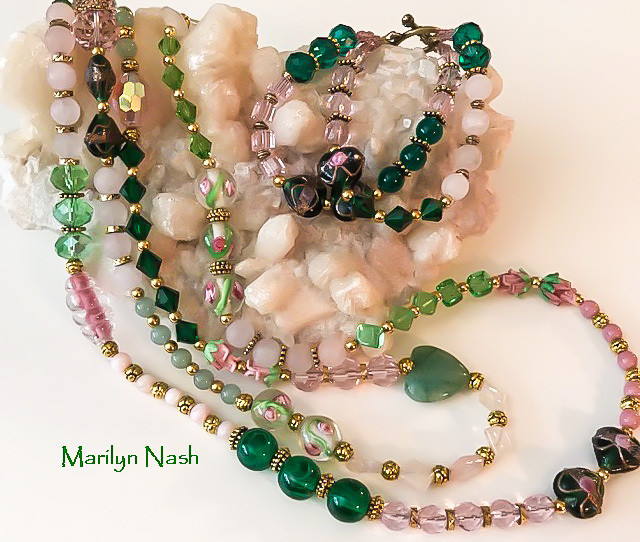 one-of-a-kind jewelry Marilyn Nash Designs