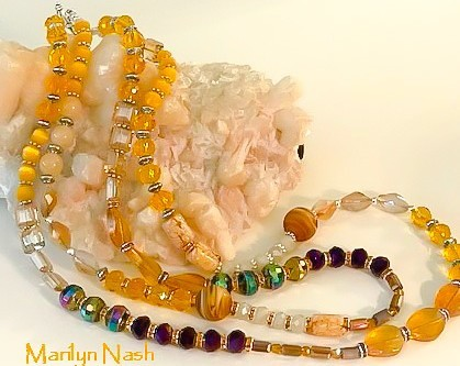 one-of-a-kind necklace by Marilyn Nash