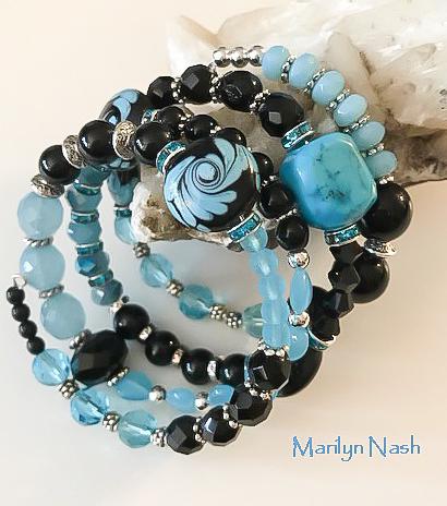 one-of-a-kind bracelet Marilyn Nash Designs