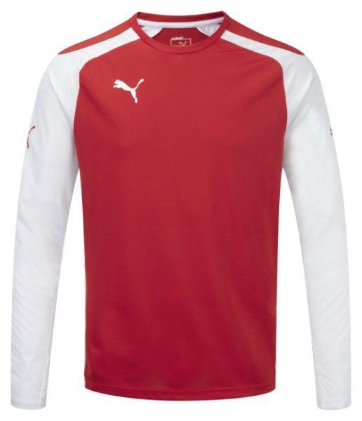 Puma Speed L/S Shirt – Red-White