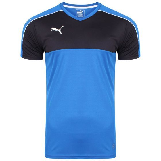 Puma Esquadra Leisure T-Shirt – Royal-Black