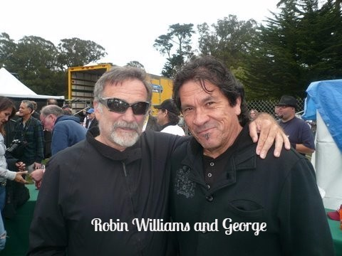Robin Williams and George