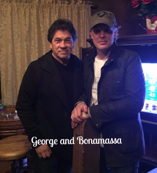 Bonamassa and George