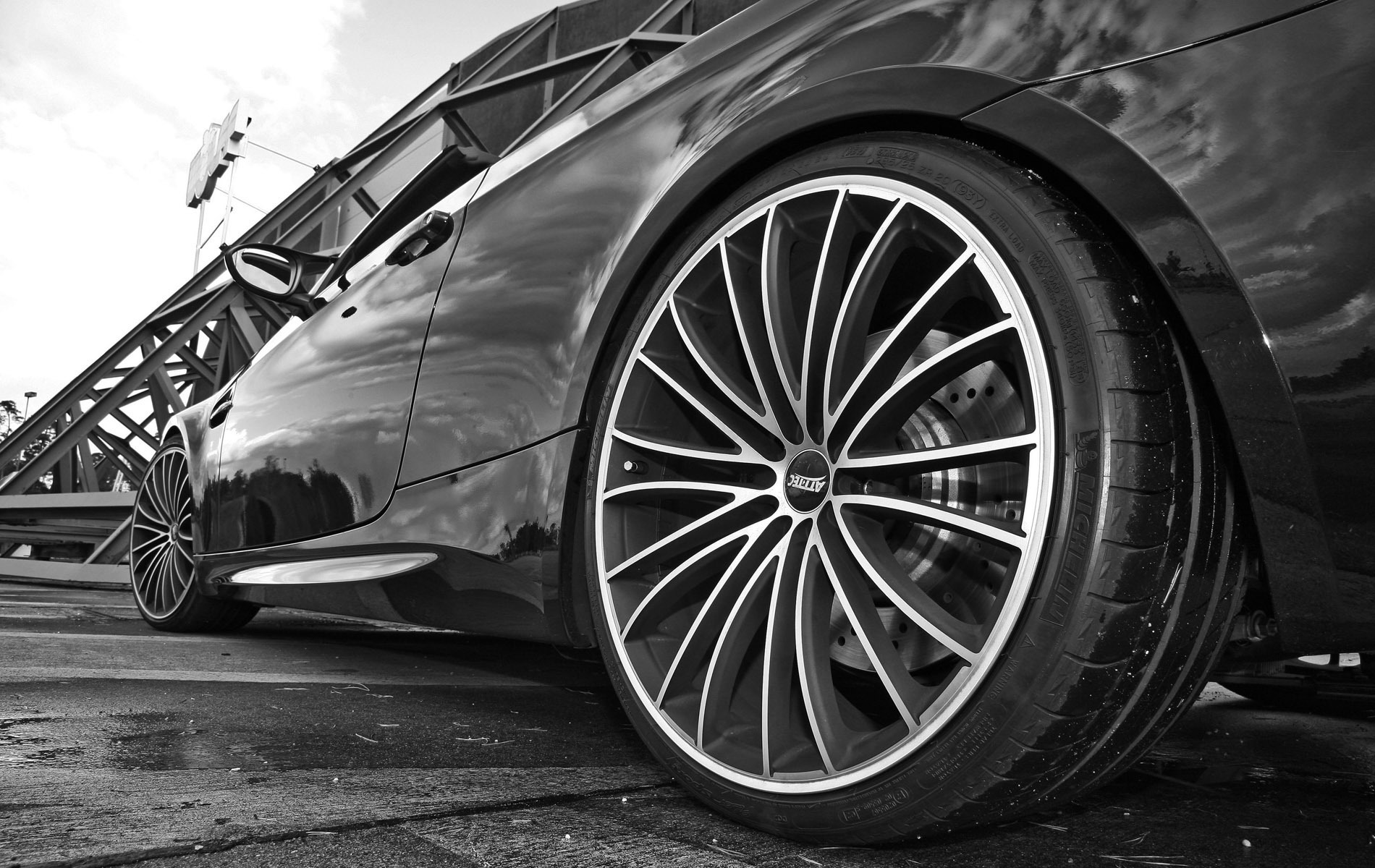 Wheel and Tire Detailing