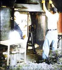 Distillation of Lavender in England