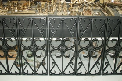 Cast Panel Balusters