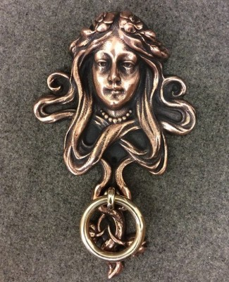 Ornate Victorian Door Knocker