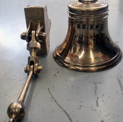 "20"" Bell with Mounting Bracket & Clapper"