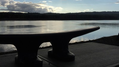 Cleat Bench—Port of Kalama, on the Columbia River