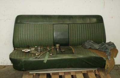 Mockup Using Original Truck Seat