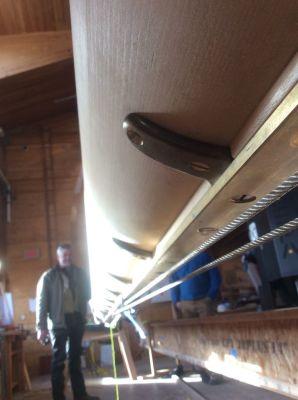 Sail Track Risers