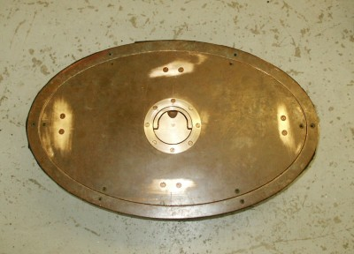 Custom Lock Mechanism for Manhole—reverse