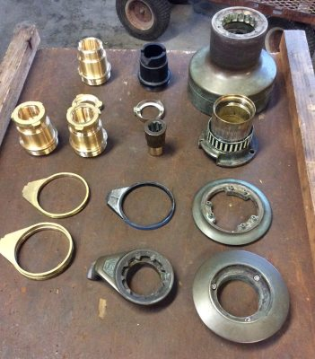 Replacement Winch Components