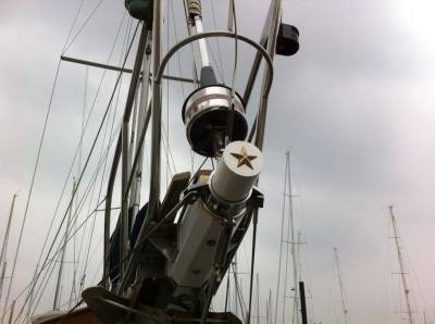 "3"" Star on Bowsprit"