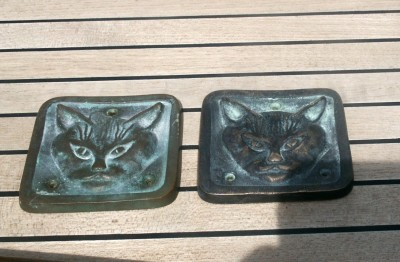Reproduction Cat Head Plates