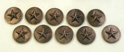 """1"""" Stars on 2"""" Plate"""