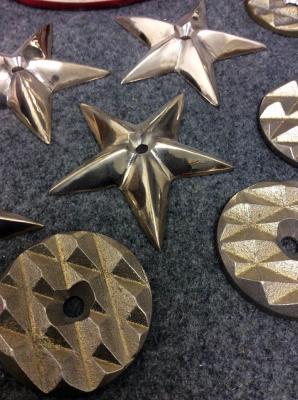 """3"""" Stars & Tread Plate"""
