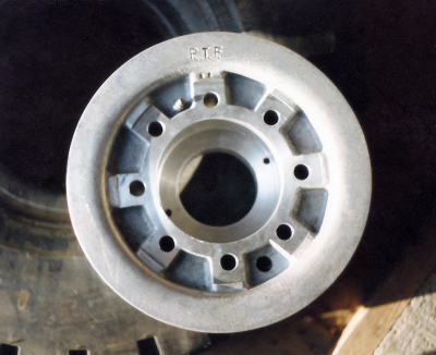Custom House-Moving Wheel Rims