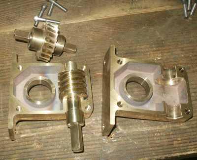 Gears in Gear Box
