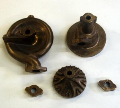 Custom Reproduction Water Pump & Impeller