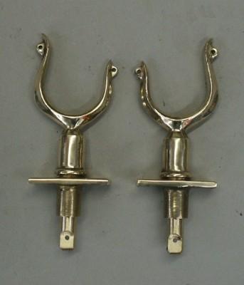 Raised Offset-Horned Oarlocks